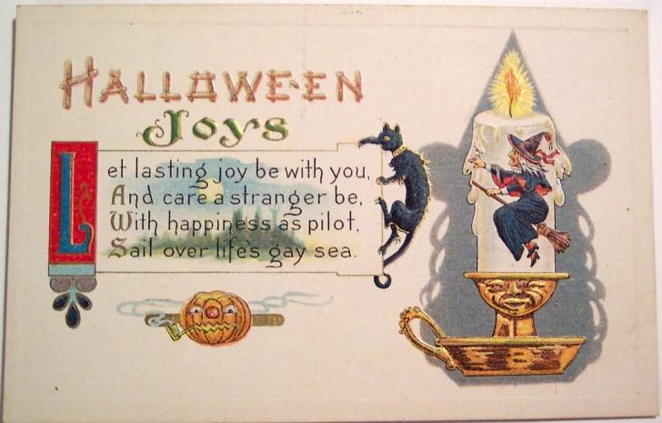Postales Halloween vintage 134