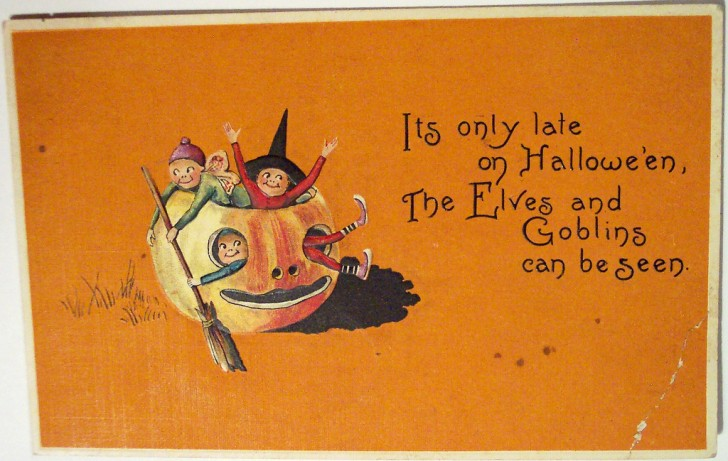 Postales Halloween vintage 137