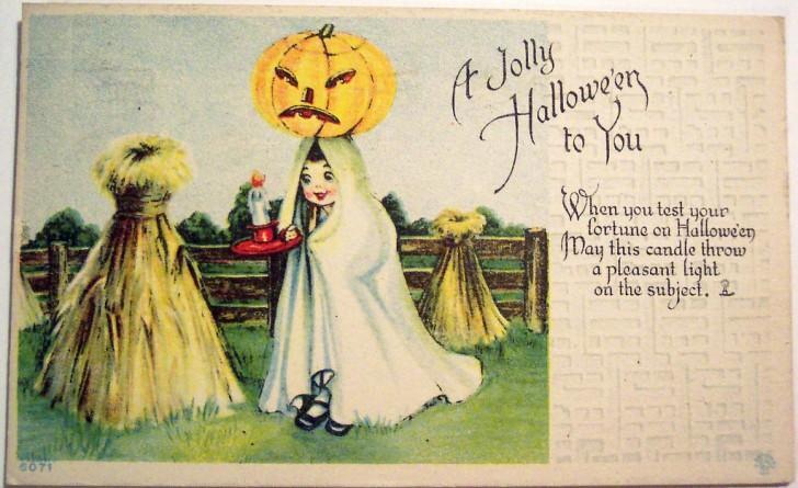 Postales Halloween vintage 138