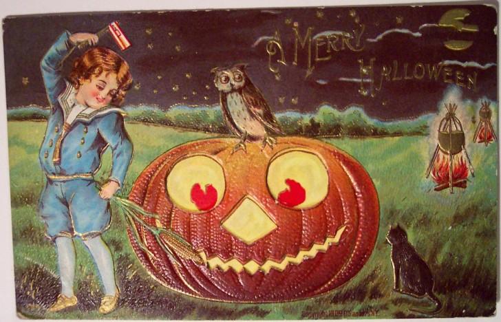 Postales Halloween vintage 139