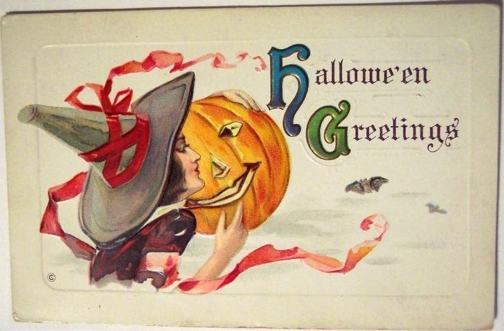 Postales Halloween vintage 140
