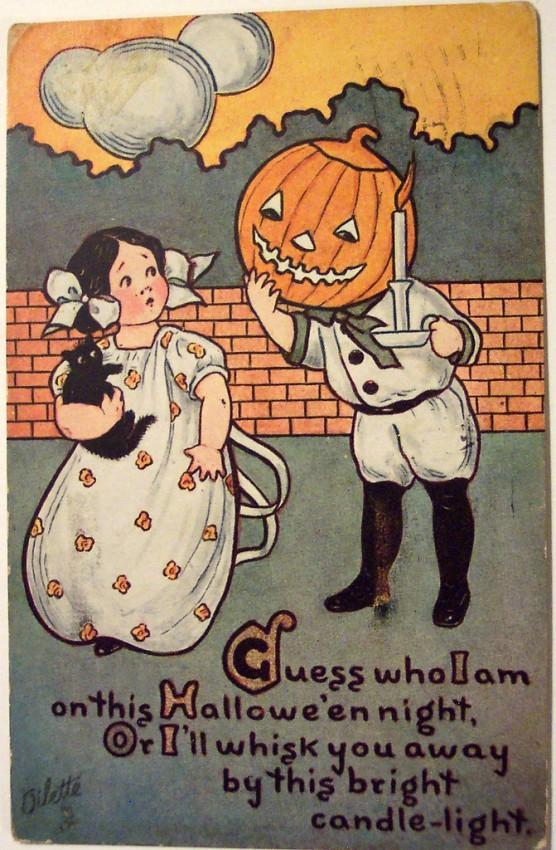 Postales Halloween vintage 144