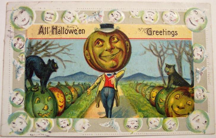 Postales Halloween vintage 145