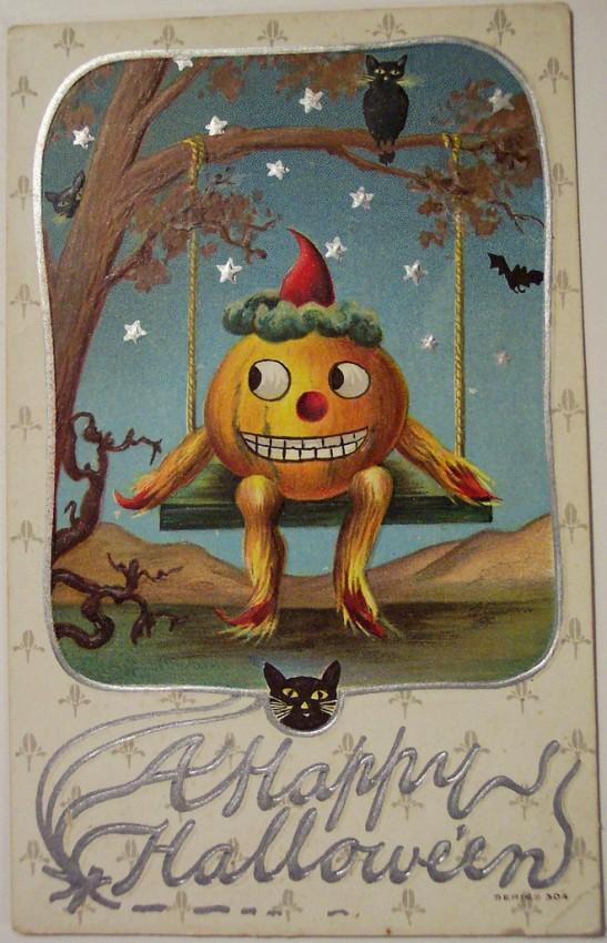 Postales Halloween vintage 146