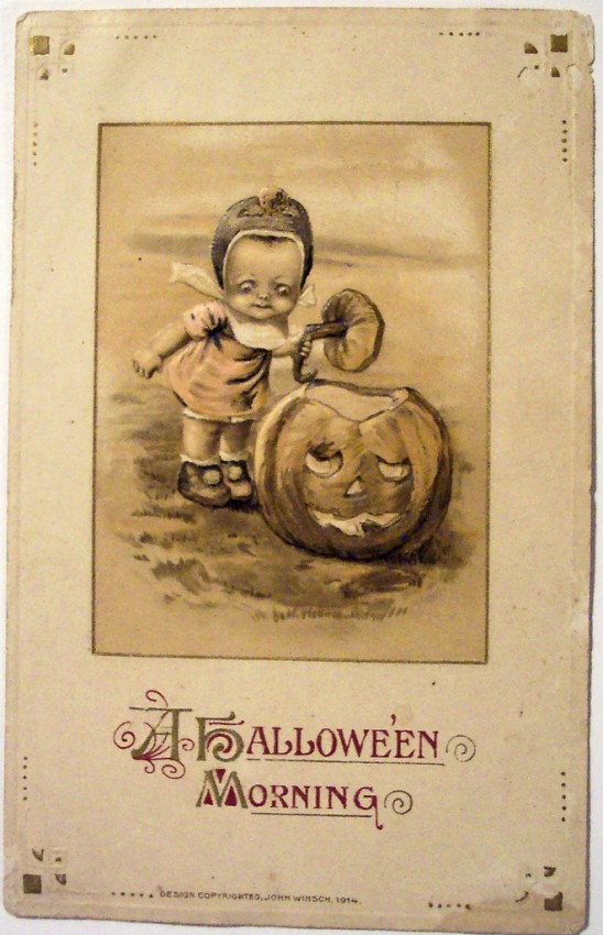 Postales Halloween vintage 147