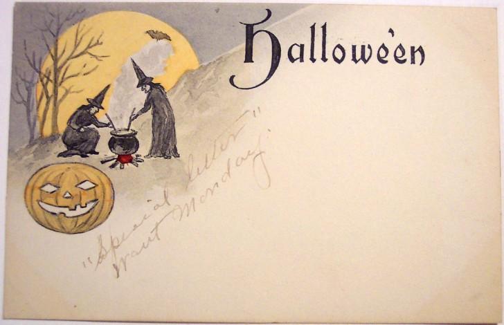 Postales Halloween vintage 148