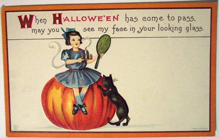 Postales Halloween vintage 150
