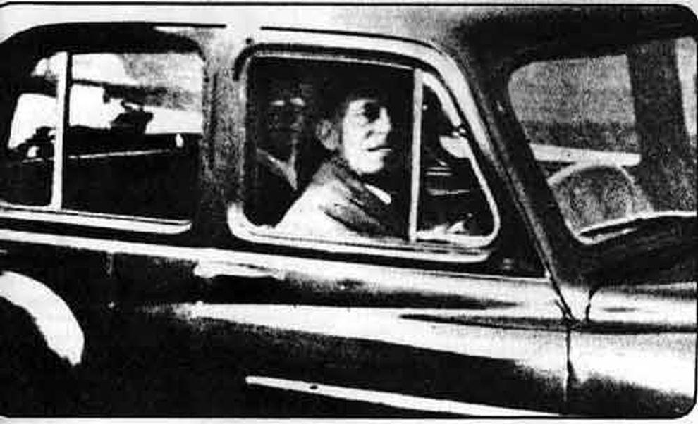 fantasma coche asiento trasero