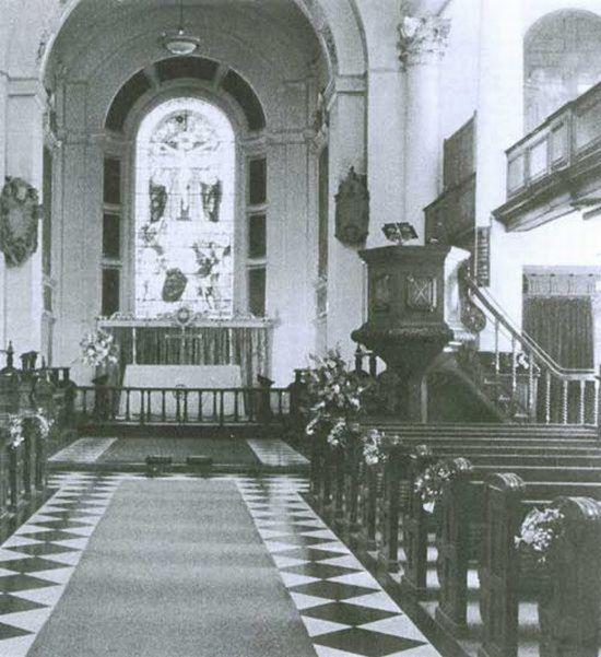 fantasma organo San Botolph