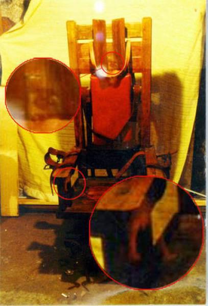 fantasma silla electrica