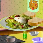 Juego para cocinar ensalada Lyonnaise