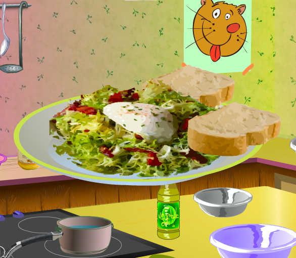 juego-cocinar-ensalada-lyonnaise