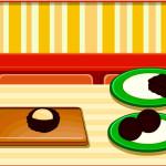 Juego para cocinar galletas de chocolate