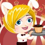 Juego en el comercio de cupcakes