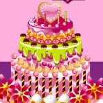 Juego para preparar pasteles de cumpleaños