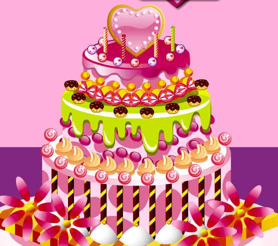 b2bd603ed Juego para preparar pasteles de cumpleaños