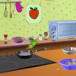 Juego para preparar pimiento frittata