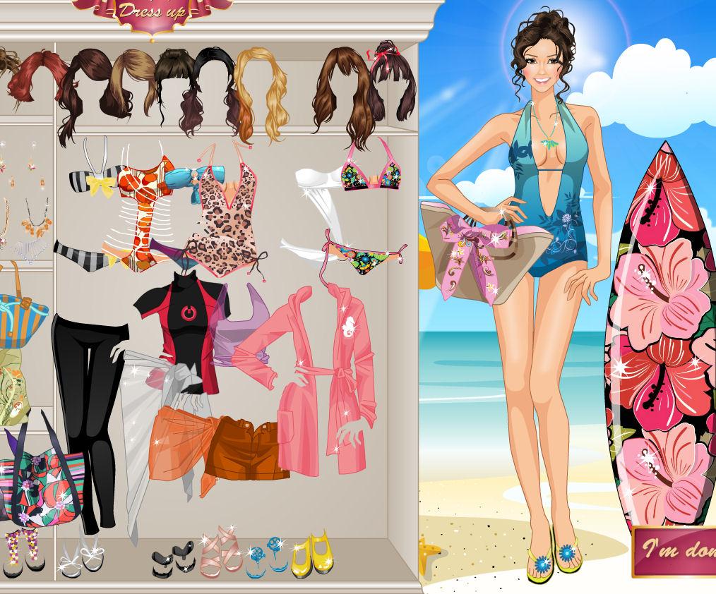 juegos vestir trajes bano