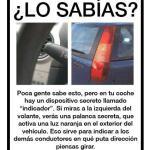 ¿Conoces este dispositivo secreto que tienen todos los coches?
