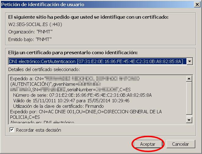 vida laboral certificado
