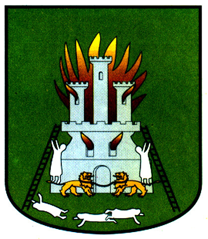 Escalera escudo