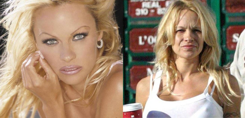 Pamela Anderson sin maquillaje