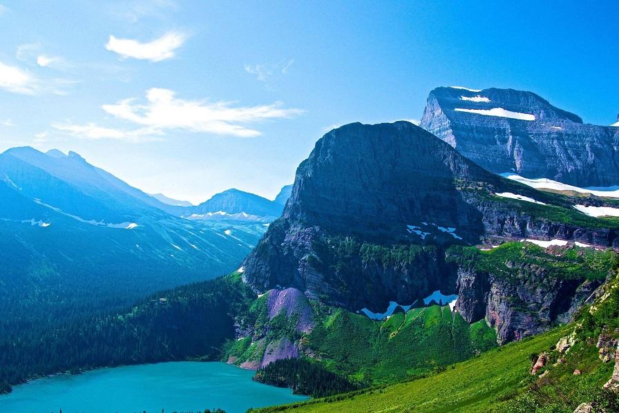 Parque Nacional Glaciares montana estados unidos