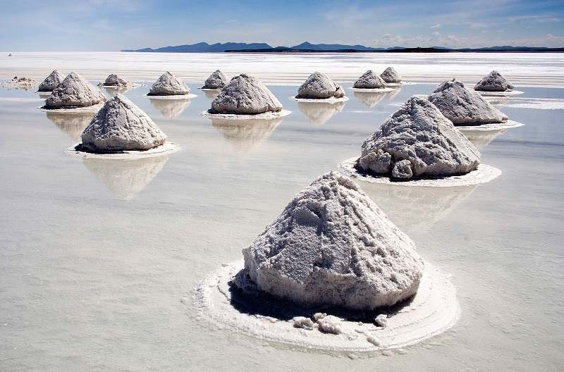 Salar de Uyini pilas sal desierto bolivia