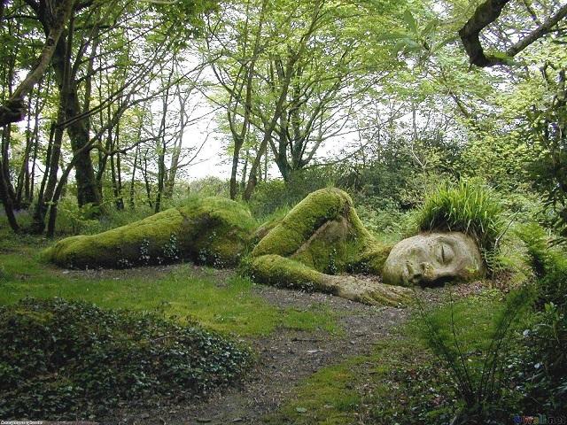 diosa durmiente jarindes heligan