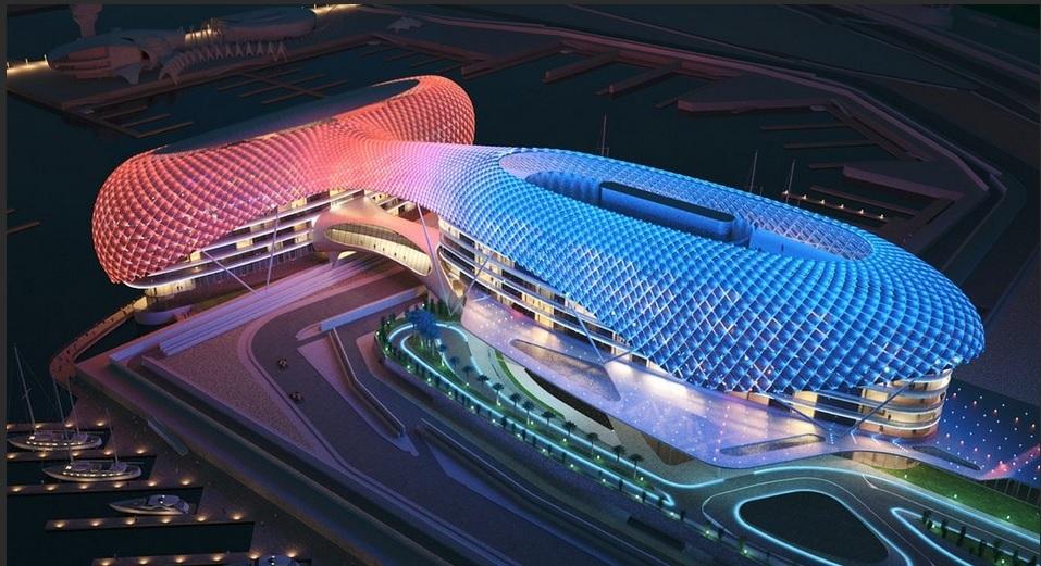 hotel Yas Viceroy Abu Dhabi circuito F1