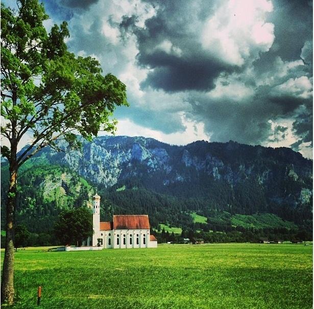 iglesia campo Austria