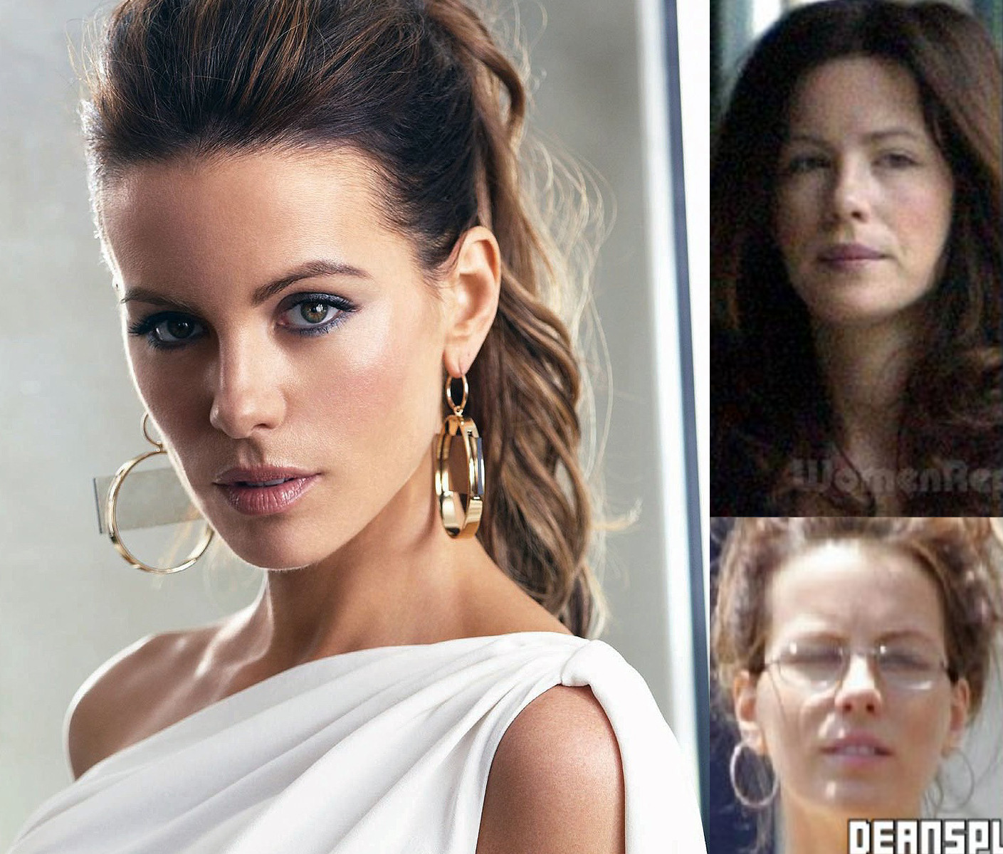 kate beckinsale sin maquillaje