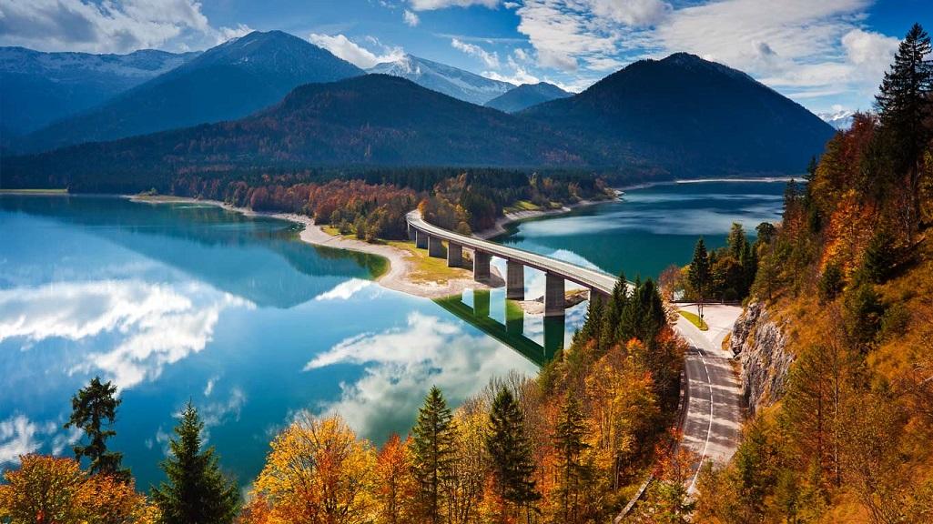 lago Sylvenstein alemania