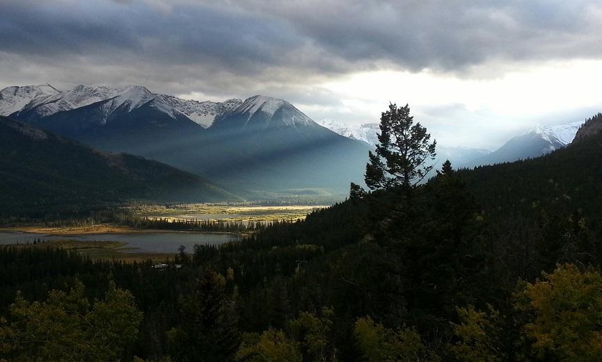 montaña Norquay canada
