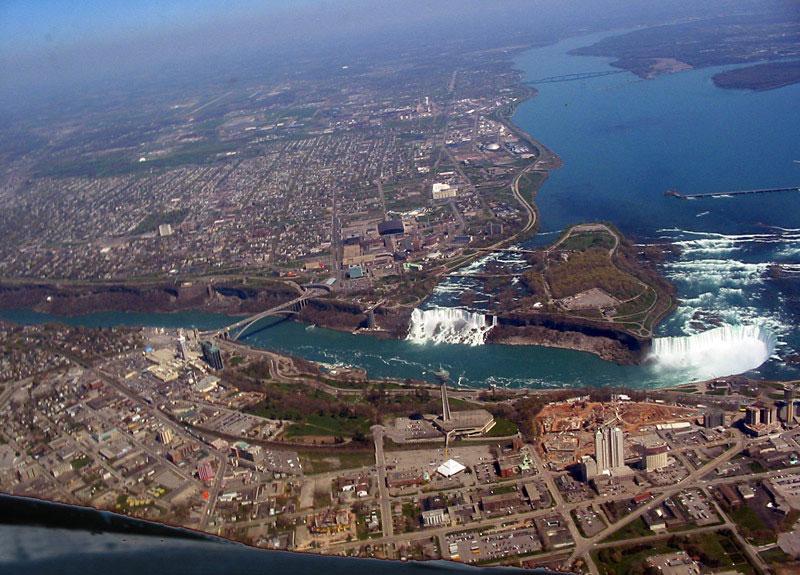 vista aerea cataratas niagara Canada