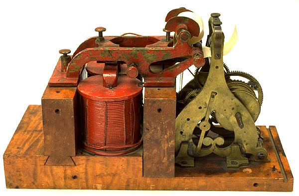 primer telegrafo 1838