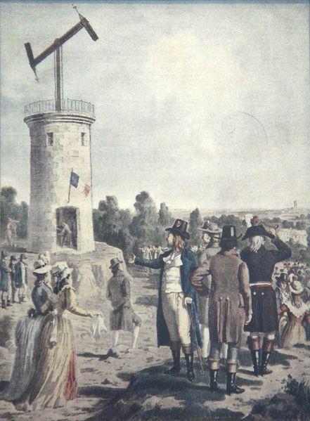 primer telegrafo chappe