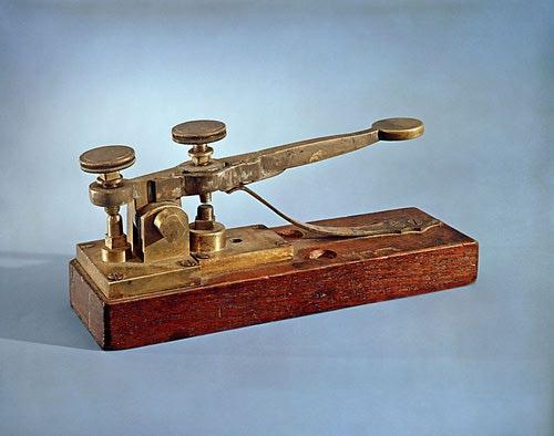 telegrafo morse 1844-1845