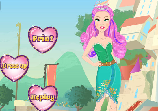 Juego moda Ever After High Barbie