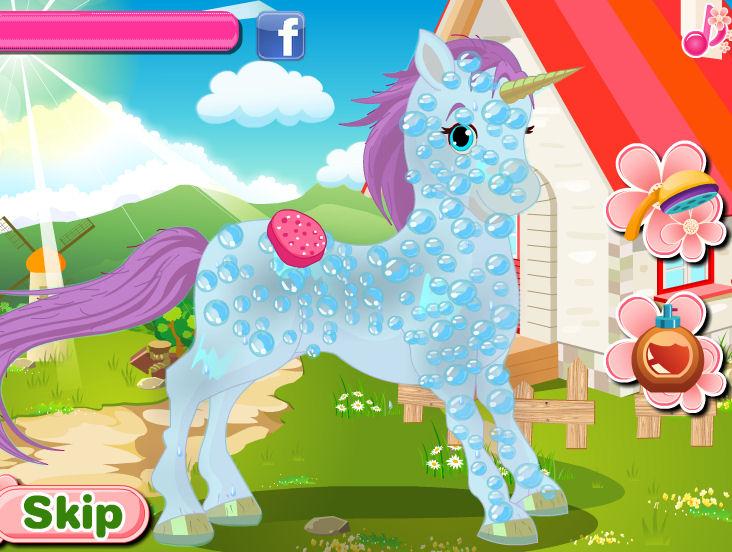 Juegos vestir CA Cupid unicornio