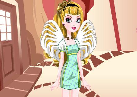 Juegos vestir Cupid