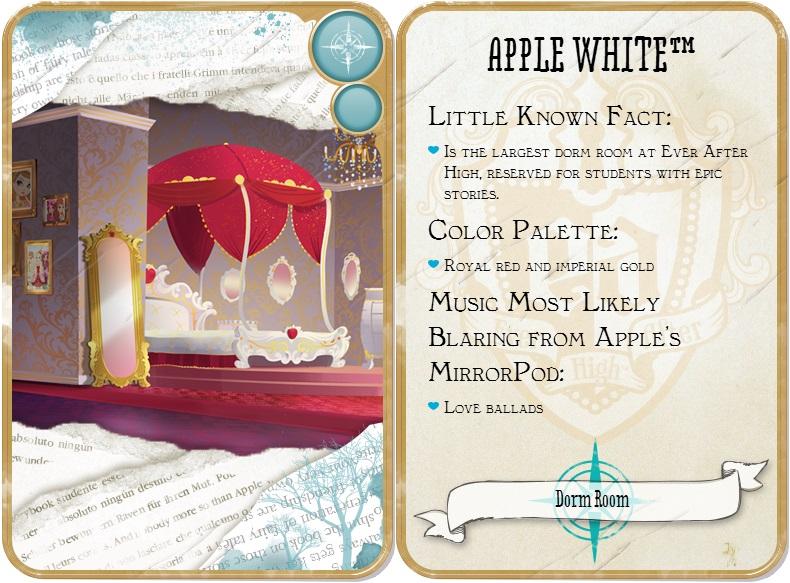 apple white dormitorio