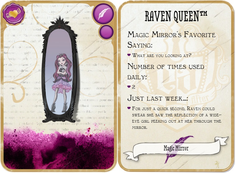espejo magico raven queen