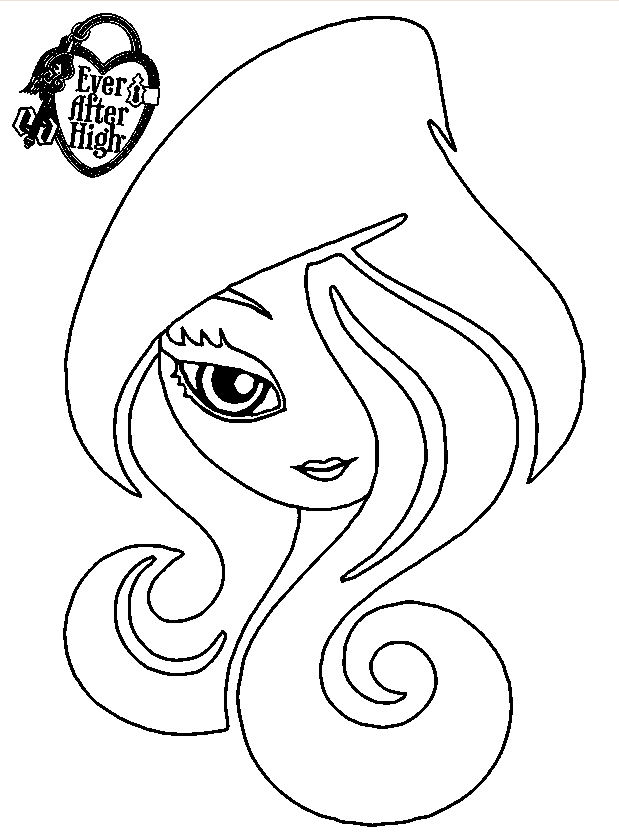 ever after high pintar colorear