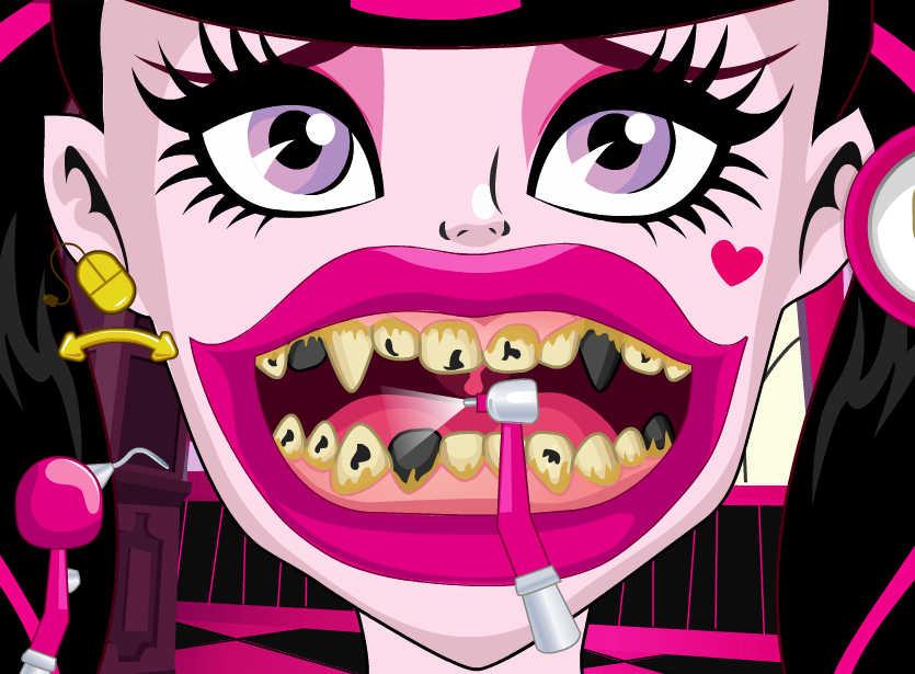juego-blanqueamiento-dental-draculaura