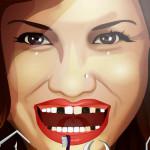Juego en la clínica dentista con Demi Lovato