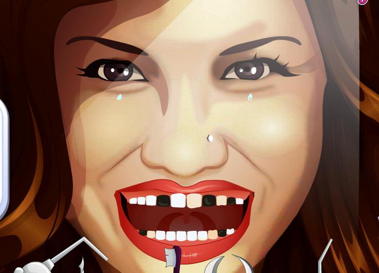 juego-clinica-dentista-demi-lovato