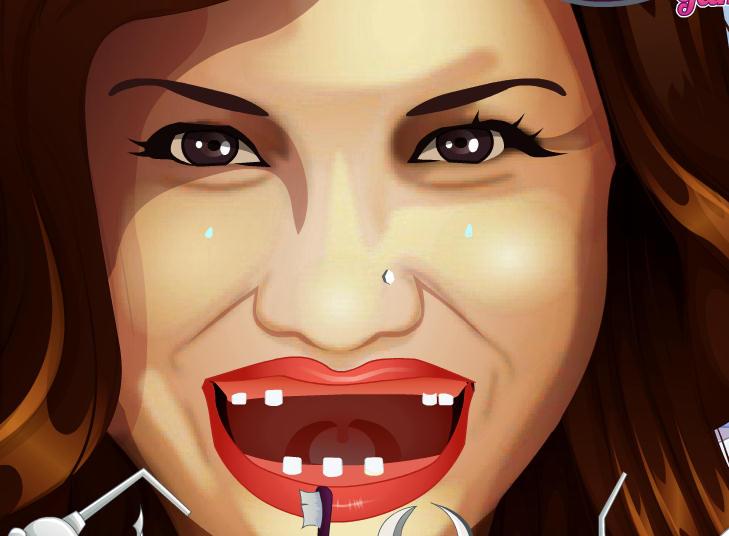 juego-dentista-demi-lovato