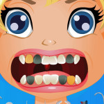 Juego dentista con Polly Pocket