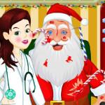 Juego con la doctora de Santa